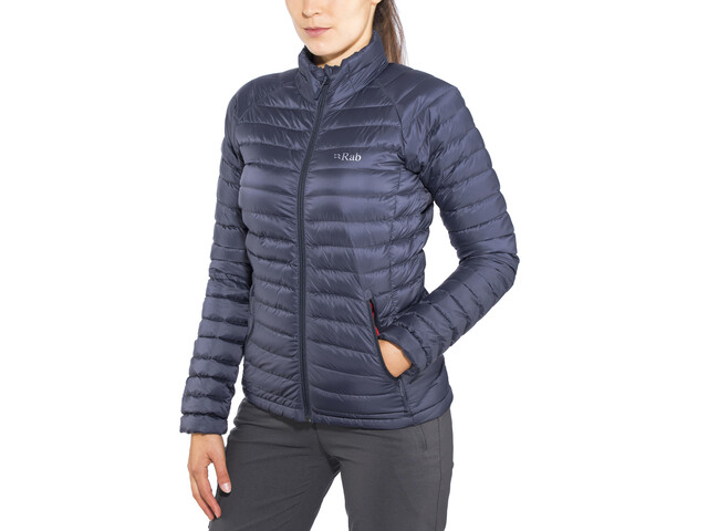 Rab Microlight Jacket Women steel/passata